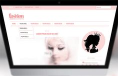 modern blogger template - minimalist blogspot template  DuniaLaininPastel by mycandythemes on Etsy
