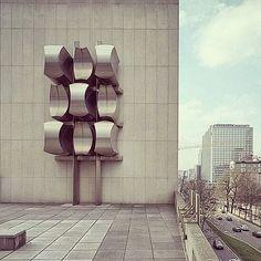 Charline Lancel, abstract and fine art photography: I LOVE Jacques Moeschal Sculpteur & Architecte