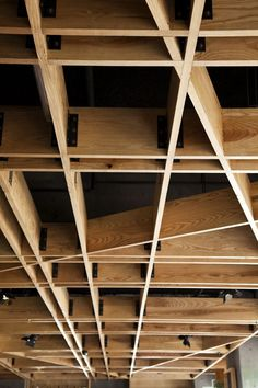 Great ceiling design. #wood #ceilings #design #architecture