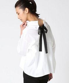 Deuxieme Classe(ドゥーズィーエムクラス)のバックグログランショートシャツ◆(シャツ/ブラウス)|ホワイト