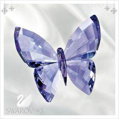 Salada Misa | Rakuten Global Market: Swarovski figúrka postava krištáľové sklo MOTÝĽ PROVENCE LAVENDER Butterfly Butterfly darček nový
