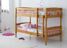 Dreams Colorado Childrens Bed - If you're looking for a classic bunk bed that is comfortable, practical and safe, then the Colorado is the choice for you. The antique pine finish makes it an ideal choice for traditionally styled children's bedrooms and a neutral enough option to suit most rooms.    Safety is of paramount importance and our exclusive bunk beds are built and tested to British standards. The sturdy ladder is well-built and protective rails surround the top bunk.