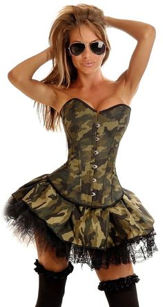 Sexy Camoflage Halloween Costume ideas For Women