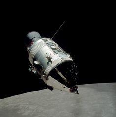 Final Mission Apollo 17 Command Module, December, 1972