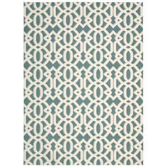 Found it at Wayfair.ca - Lyra Ivory & Blue Area Rug