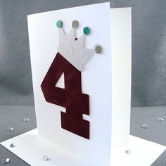 4th Prince or Princess Birthday Card for a by ZeeBestCelebrations