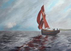 Over the last few weeks I've been working on a project that I haven't been able to share, until now that is. I've been doing a large painting of a Gaff Cutter, which was buil… Scottish Highlands, Large Painting, Art Decor, Fine Art, Artist, Artists, Highlands, Visual Arts