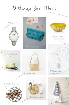 Bloesem living   Mother's Day - Things for mom