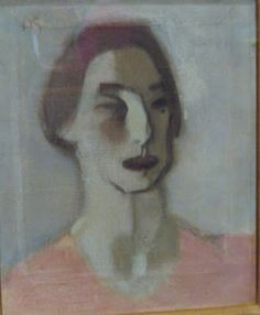 Venny Soldan, Finnish Painter (by her friend Helene Schjerfbeck). Venny Soldan was mother and wife, but also painter and great bohemian. And she also lived as an author, which was rare at that time in Europe and elsewhere. Finnish Women, Helene Schjerfbeck, Beautiful Person, Famous Artists, Van Gogh, Painters, Virginia Woolf, Inspiring Art, Portrait