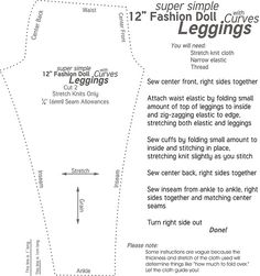 Leggings for Curvy | Hi--here's the pattern adapted to fit C… | Andrea | Flickr