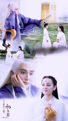 Drama Film, Drama Movies, Film Music Books, Music Tv, Chinese Drawings, Love Dream, Peach Blossoms, Eternal Love, Cute Images