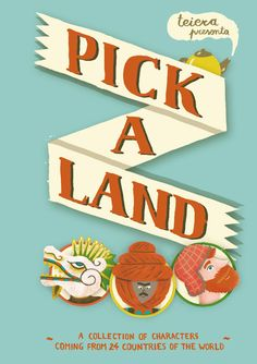 #BOOKS #ILLUSTRATION #DIY #GAMES - The book cover preview, designed by Sarah Mazzetti. We love it, we hope you do too! PICK A LAND by TEIERA. We are Teiera, a self-publishing label formed by Cristina Spanò, Giulia Sagramola and Sarah Mazzetti. We would like to release Pick-a-land, a stackable book created with the aim to make children and adults play with the illustrations and with the book as an object.   +INFO: www.teiera.net  verkami CAMPAIGN www.verkami.com/projects/2104