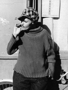 Jeanne Moreau on Jules Et Jim.: