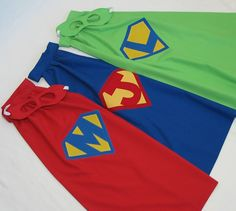 PERSONALIZED Little Super Hero Cape and Mask