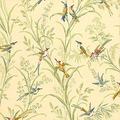 Thibaut Historic Homes Vol VII - Augustine - Wallpaper - Beige