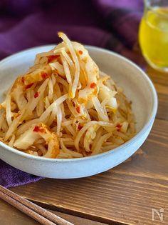 もやしとちくわの旨辛ナムル by ちおり | レシピサイト Nadia | ナディア - プロの料理家のおいしいレシピ