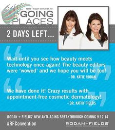 In less than 48 hours, Rodan + Fields® will unveil the newest addition to our skincare arsenal. It's time you absolutely love your skin, feel fabulous and smile each time you look in that mirror. Yeah, it's fact we will age but heck, why not age well and slow down the inevitable. I heard this new skincare product works within 30 mins. Hello! I want it!  And if you do place your order makeupbyfaceit.myrandf.com email me makeupbyfaceit@yahoo.com