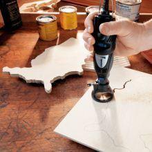 different Dremel tools #WoodCraftsTools