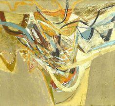 Peter Joyce<br />Exploring les Tendes, 2012<br />  Acrylic on Canvas<br />  97 x 105 cm