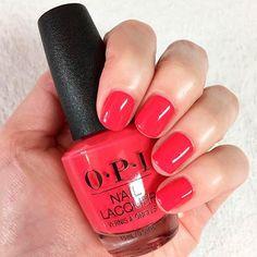 OPI Nail Polish red nail 2018