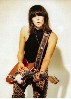 Chrissie Hynde -- perhaps my all-time favorite woman of rock