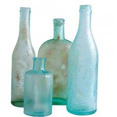Sea Glass Bottles - Must-Have: A Treasured Collection - Coastal Living Mobile