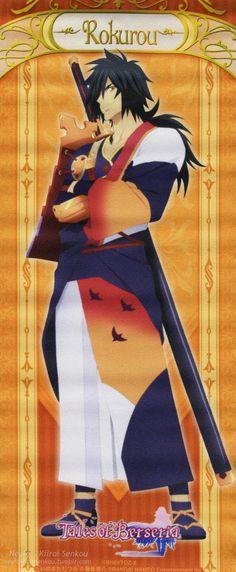 Tales of Berseria, Rokurou Rangetsu Video Game Anime, Video Games, Why Do Birds, Tales Of Berseria, Tales Of Zestiria, Tales Series, Anime Characters, Manga, Games