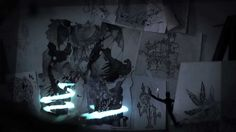 Imagineers in Exile - projection mapping storytelling by a dandypunk