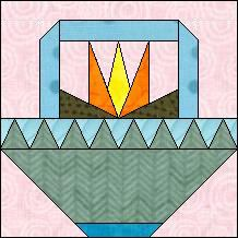 Quilt-Pro Systems - Quilt-Pro -  Block of the Day-Southwestern Flower Basket. The Block of the Day is available to all quilters, regardless of whether you own our software programs.  You can download the Block of the Day as a .pdf file