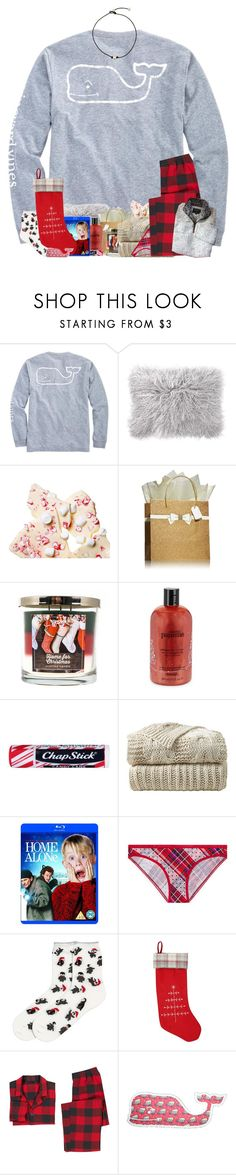"""""""Day 23 & 24: Merry Christmas eve everyone!"""" by j-prepp ❤ liked on Polyvore featuring Vineyard Vines, PBteen, SONOMA Goods for Life, philosophy, Chapstick, Victoria's Secret, M&Co and True Grit"""