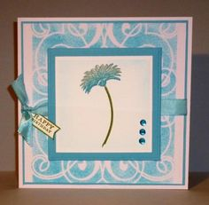 CC483 Turquoise Smile by sue28 - Cards and Paper Crafts at Splitcoaststampers