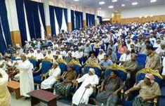 اخبار اليمن - لقاء موسع للمشائخ والأعيان بالمهرة لمناقشة أوضاع المحافظة و التشاور وتوضيح بعض القضايا