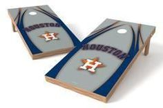 Houston Astros Single Cornhole Board - The Edge