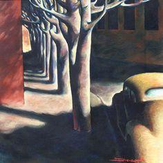 """Z.Z. Wei - (b. 1957) """"Boulevard Shadows"""""""