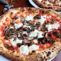"""Spacca Napoli: """"Owner Jonathan Goldsmith studied pizza-making in Italy and imported a massive wood-burning oven (and a pizza chef) to make the best and most authentic Neapolitan-style pizzas Chicago has ever seen."""" -LTH Forum: Great Neighborhood Restaurants and Resources"""