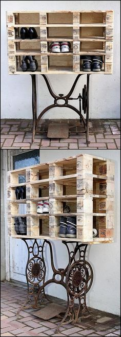Everything in a home needs to be stylish and innovative if a person wants to make the home look different, so the shoe rack idea is awesome to place the shoes in an organized way near the entrance. It doesn't make the area look messy because of the arrangement of shoes.
