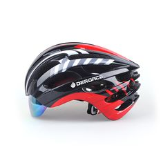Cycling Helmet MTB Road Bike Bicycle Helmet With Glasses Casco Ciclismo Casco Bici Kask Casque Velo Capacete Ciclismo DE9167