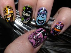 Pin for Later: 25 Cute and Creepy Nail Art Ideas For Halloween