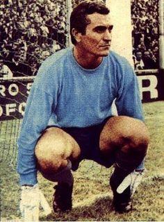 Amadeo Carrizo - Argentina - goalkeeper. Fifa, Image Foot, Soccer Stadium, School Football, Goalkeeper, Football Players, Carp, Twitter, World Of Sports