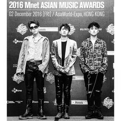 161202 Zico IG update with Crush and Dean #2016MAMA