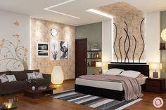 Nature Inspired Home Interiors Add Freshness To Living Bed Back Design, Royal Furniture, Inspired Homes, Nature Inspired, Palette, Colours, Interiors, Bedroom, Inspiration