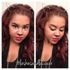 Halloween Makeup: Glam Kitty!