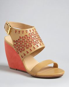 Rebecca Minkoff Wedge Sandals - Sally High Heel | Bloomingdale's