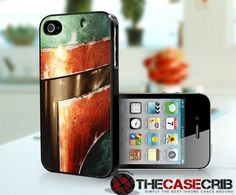 Boba Fett iPhone. $15.99, via Etsy.  Be sure to check out all their ver unique cases