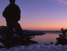 Ranger-guided twilight snowshoe tour.