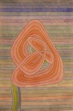 Paul Klee, Lonely Flower, 1934