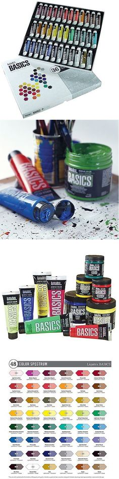 Acrylic Paint 31401: Liquitex Basics Acrylic Paint Tube 36-Piece Set ( Art Supplies Painting Artist ) -> BUY IT NOW ONLY: $37.01 on eBay!
