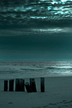 beach at night...
