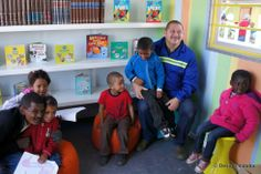 Installing a container library, planting trees and painting houses for the Blikkiesdorp community in Cape Town. House Painting, Container, Children, Projects, Design, Art, Young Children, Log Projects, Art Background