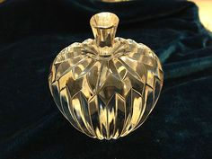 Vintage Waterford Crystal Apple Paperweight http://r.ebay.com/AgQCHm
